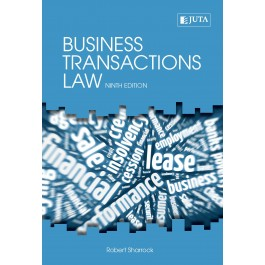 Business Transactions Law 9h Ed - Sharrock, R