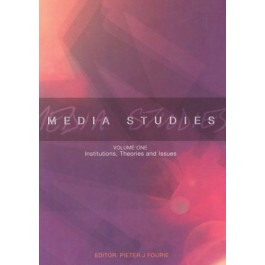 Media studies vol.1 Institutions.Theories and Issues