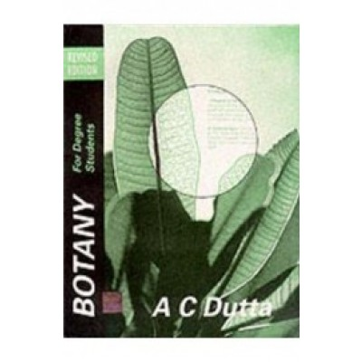 Botany for Degree Students revised 2000 edition - AC Dutta