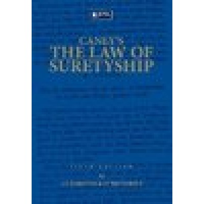 Caney's the Law of Suretyship