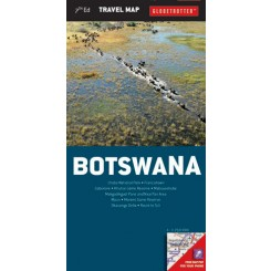 Botswana Travel Map