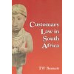 Customary Law in S.A. - Bennett