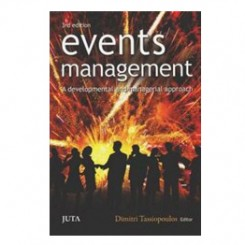 Events Management A Developmental and Managerial Approach 3d ed  - Dimitri Tassiopaulos