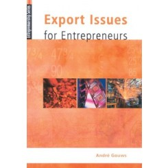 Export Issues for Entrepreneurs [With CDROM]