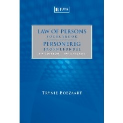 Law of persons Sourcebook 5e