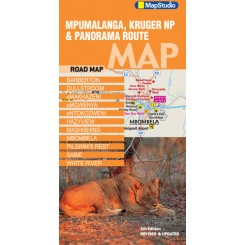Mpumalanga Kruger NP and Panorama Route Map