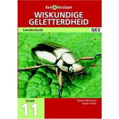 Study and Master Mathematical Literacy Grade 11 Learner's Book Afrikaans Translation