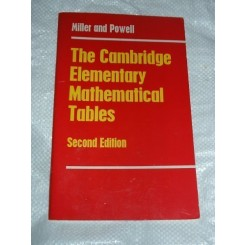 The Cambridge Elementary Mathematical Tables