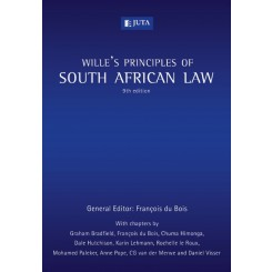 Wille's Principles of South African Law 9th edition - F.du Bois